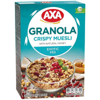Мюслі Axa з насінням льону журавлиною та кокосом 375г
