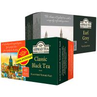Набір чай Граф Грей+Класичний Чорний Ahmad 40штх2г