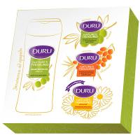 Набір Duru Nature`s Treasures крем-гель олив.250мл+мило3*90