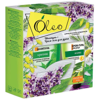 Набір Oleo шампунь кропива 300мл + крем-гель 300мл