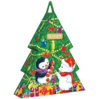 Набір подарунковий №6 Новорічна ялинка Roshen 380г