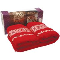 Набір рушників Aura tekstil 2шт.50х90см+70х140см