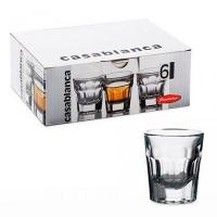 Набір склянок Pasabahce Casablanca 6шт*37мл