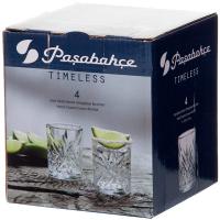 Набір склянок Pasabahce Timeless 4*62мл арт.52780