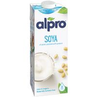 Напій Alpro соєвий з кальцієм із цукром 1л