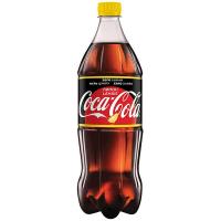 Напій безалкогольний Coca Cola Зеро лимон 1л