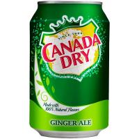 Напій Dr.Pepper Canada Dry б/а сильногазований ж/б 330мл