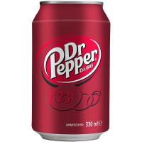 Напій Dr.Pepper сильногазований б/а 0,33л