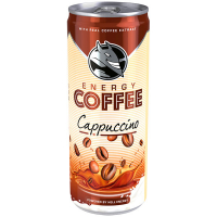 Напій енергетичний Hell Energy Coffe Cappuccino б/а ж/б 250мл х24
