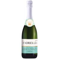 Напій ігристий Fiorelli Fragolino Bianco біле солодке б/а 0% 0,75л