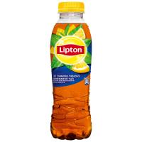 Напій Lipton чорний чай Лимон 0,5л