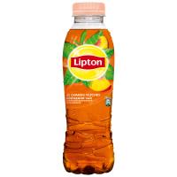 Напій Lipton чорний чай Персик 0,5л