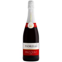 Напій на основі вина Fiorelli Fragolino Rosso червоне солодке 7% 0,75л