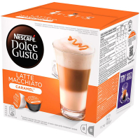 Напій Nescafe Latte Macchiato Caramel 8*13.2г +8*5г