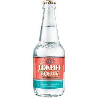 Напій слабоалкогольний Оболонь Джин-тонік с/п 0,33л