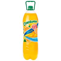 Напій Соковинка смак Апельсина 2л