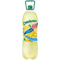 Напій Соковинка смак лимона пет 2л