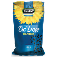 Насіння Bondiaf de`Luxe соняшника смажене 170г