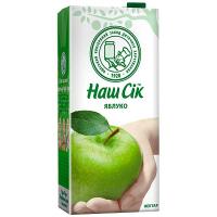 Нектар Наш сік Яблуко 1,93л