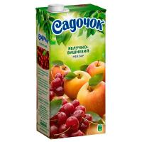Нектар Садочок Яблучно-вишневий 1,93л