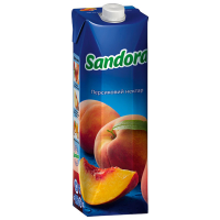 Нектар Sandora персиковий 0,95л