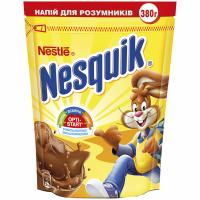 Напій Nestle Nesquik швидкорозчинний з какао 380г