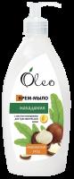 Крем-мило Oleo Макадамія для чутливої шкіри 500мл х6
