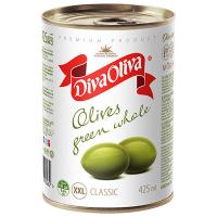 Оливки Diva Oliva зелені з/к 425мл