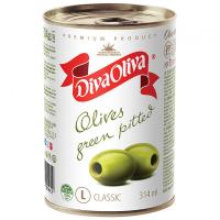 Оливки Diva Oliva зелені ж/б 314мл