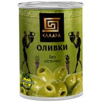 Оливки Ellada без кісточки ж/б 420г