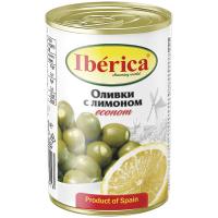 Оливки Iberica з лимоном ж/б 280г
