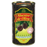 Оливки Маэстро дэ Олива чорні величезні б/к 360г