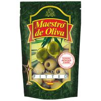Оливки Maestro de Oliva зелені б/к 175мл
