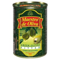 Оливки Маэстро дэ Олива зелені б/к 300г