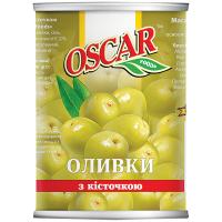 Оливки Oscar з/к 350г