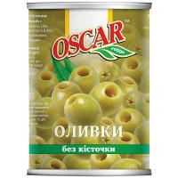 Оливки Oscar зелені б/к 400г