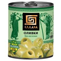 Оливки Еллада Colossal б/к ж/б 850мл