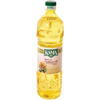 Олія Kama соняшниково-оливкова рафінована 900г
