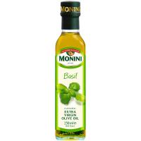 Олія оливкова Monini Basilico 250мл