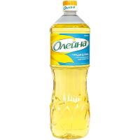 Олія соняшникова Олейна традиційна рафінована 0,85л