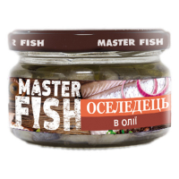 Оселедець Master Fish в олії 180г