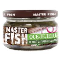 Оселедець Master Fish в олії з прянощами 180г