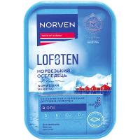 Оселедець Norven філе-шматочки в олії 500г