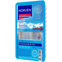 Оселедець Norven філе в олії 240г