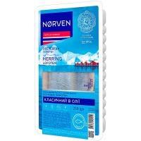 Оселедець Norven в олії 250г