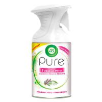 """Спрей-освіжувач повітря з ефірними оліями Air Wick Pure """"Пачулі та евкаліпт"""", 250 мл"""