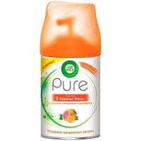 """Освіжувач повітря з ефірними оліями Air Wick Pure змінний балон """"Апельсин та Грейпфрут"""", 250 мл"""
