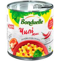 Овочева суміш Чилі Мікс Bonduelle з/б 425 мл