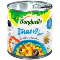 Овочева суміш Італія Мікс Bonduelle з/б 425 мл