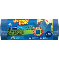 Пакети для сміття Фрекен Бок з вушками 120л 10шт.